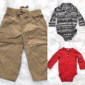 [Baby Boy] 12 Months Fall/Winter Bundle